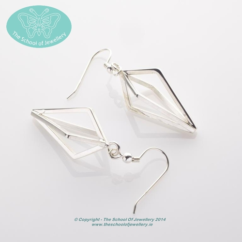 Hand made ear-rings, Jewellery, School Of Jewellery, Dublin, Ireland, Crafts