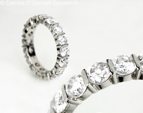 Diamond eternity Ring Deirdre O'Donnell