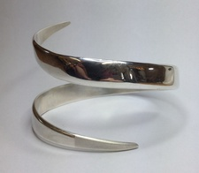Katie - Silver Bangle