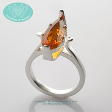 Roly Doyle, Fire Opal Ring, The School Of Jewellery
